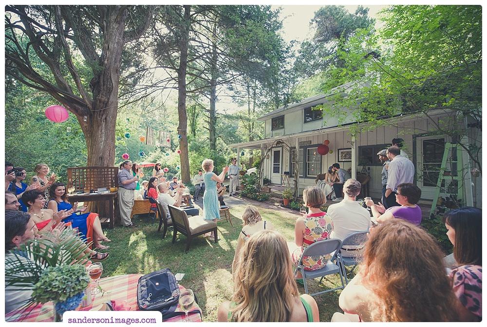 Small Backyard Wedding Doylestown Pa Wedding Photography: Weddings: A Stunning DIY Backyard Affair In MD • Sanderson