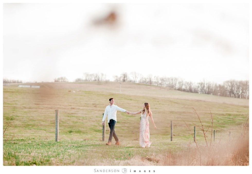 Engagement Photos in Central PA fashionable, pretty