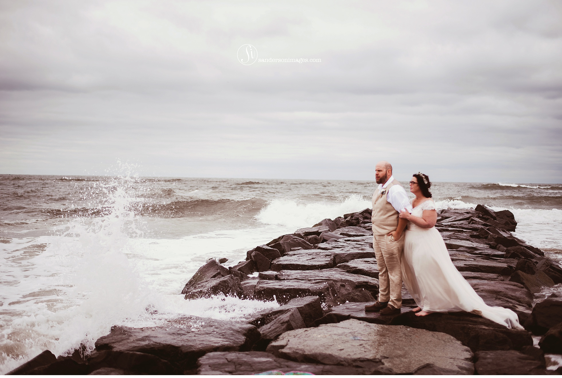 Alice Dan Ocean City Beach Wedding New Jersey Sanderson Images Photographer In Lancaster Pa